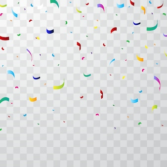 Fundo colorido confete