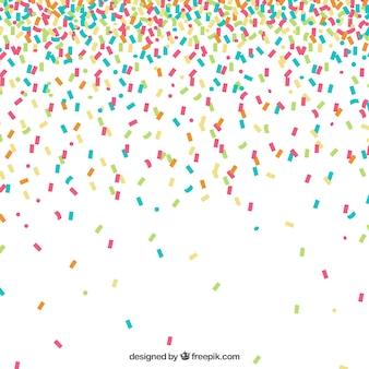 Fundo colorido confetti