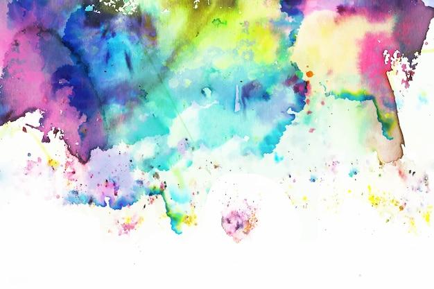 Fundo colorido criativo pintado à mão