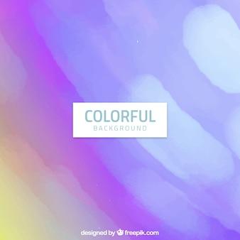 Fundo colorido da aguarela em tons roxos