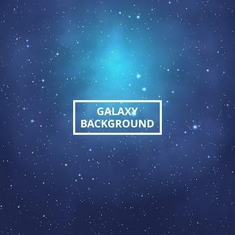 Fundo colorido da galáxia.