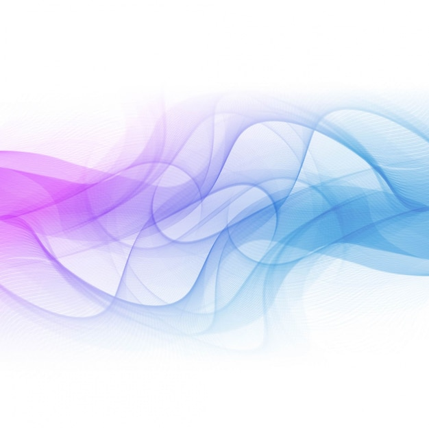 Fundo colorido da onda