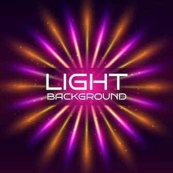 Fundo colorido das luzes