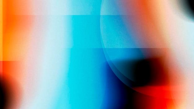 Fundo colorido de distorção com efeito de falha