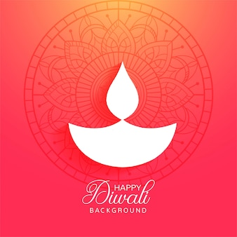 Fundo colorido do festival diwali feliz religiosa