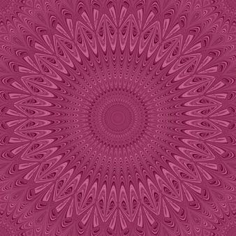 Fundo colorido do ornamento da estrela do mandala - gráfico redondo do teste padrão do vetor