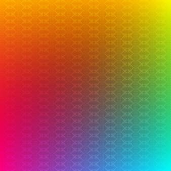 Fundo colorido do teste padrão
