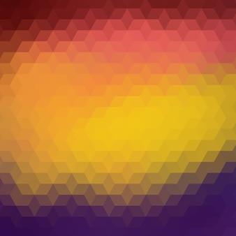 Fundo colorido feito de formas poligonais