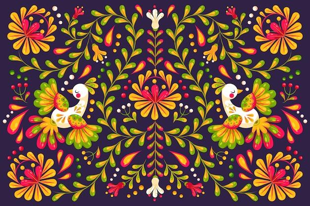 Fundo colorido festival de cinco de maio