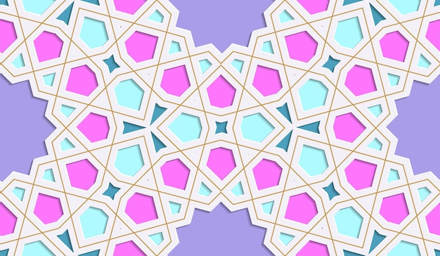 Fundo colorido festivo fundo colorido festivo. ramadan kareem. arte islâmica.