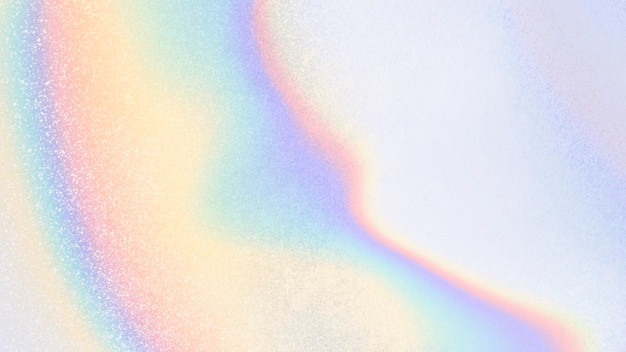 Fundo colorido iridescente abstrato