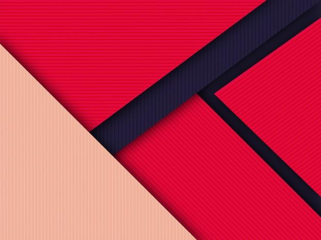 Fundo colorido material design com padrão listrado.