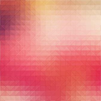 Fundo colorido mosaico de formas geométricas.