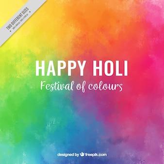 Fundo colorido para o festival de Holi