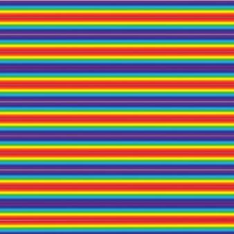 Fundo colorido realista do arco-íris multicolorido. fenômeno arqueado natural no céu. ilustração