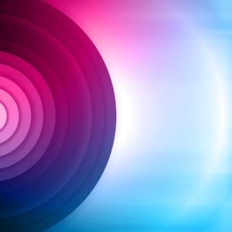 Fundo colorido sumário