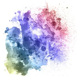 Fundo colorido textura aquosa