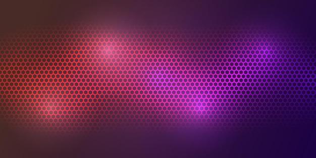 Fundo colorido. textura de fibra de carbono de cor brilhante. fundo de aço de textura de hexágono de metal.