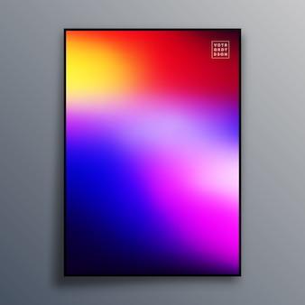 Fundo colorido textura gradiente