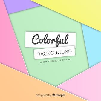 Fundo colorido