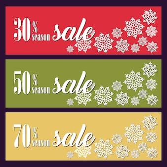 Fundo com decorações de natal para banners, publicidade, folhetos, cartões, convites e assim por diante.