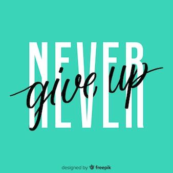 Fundo com letras de citações motivacionais