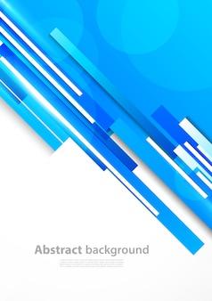 Fundo com linhas azuis