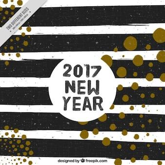 Fundo com listras pretas para o ano novo