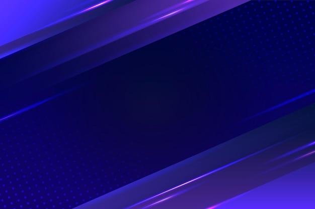 Fundo com luzes de néon abstratas