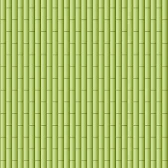 Fundo com madeiras de bambu verde