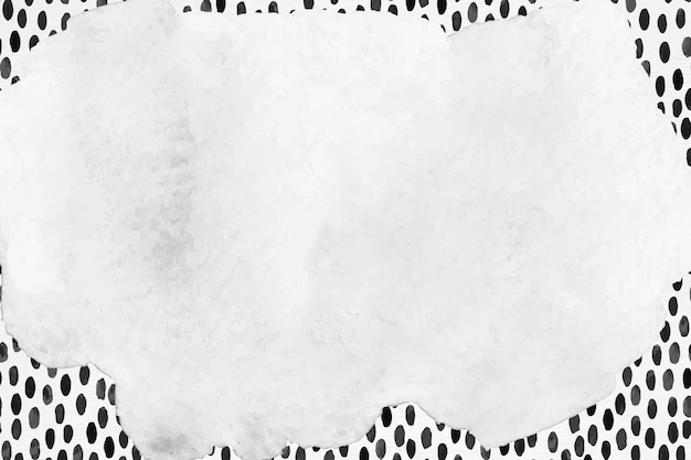 Fundo com padrão de pincel de tinta de vetor de quadro abstrato