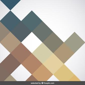 Fundo com quadrados verdes e marrons