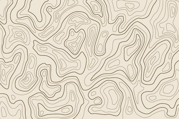 Fundo com topografia