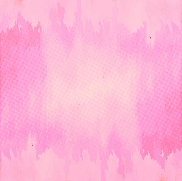 Fundo cor-de-rosa da aguarela