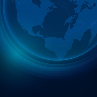 Fundo corporativo de tecnologia da globe