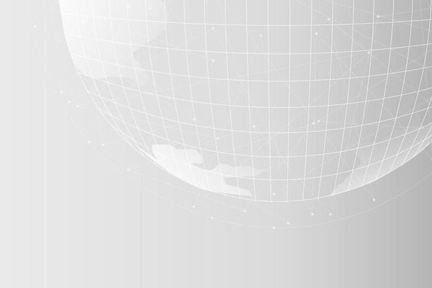 Fundo corporativo de tecnologia de grade digital globe