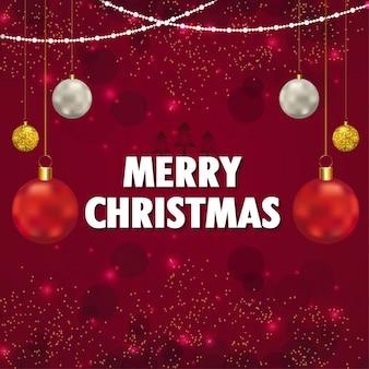 Fundo criativo para feliz natal e feliz ano novo