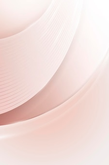 Fundo curvo abstrato rosa suave
