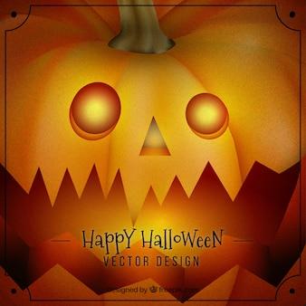 Fundo da abóbora de halloween