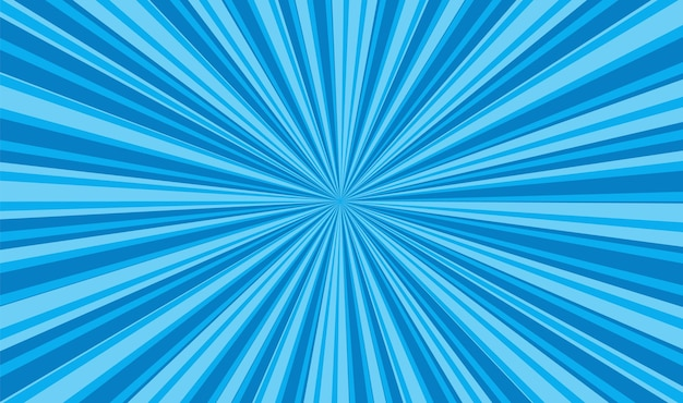 Fundo da arte pop. textura azul dos desenhos animados. ilustração vetorial.