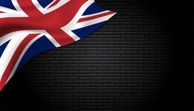 Fundo da bandeira da inglaterra.