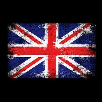 Fundo da bandeira do reino unido