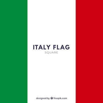 Fundo da bandeira italiana