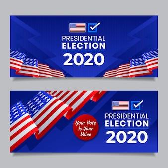 Fundo da eleição presidencial dos eua em 2020