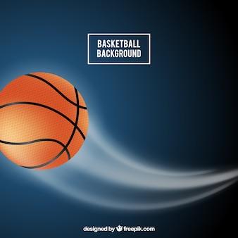 Fundo da esfera de basquete