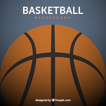 Fundo da esfera de basquetebol