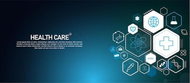 Fundo da estrutura molecular fundo abstrato com dna molecular científico ilustração do vetor de ciência e tecnologia do conceito médico