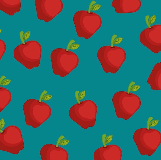 Fundo da fazenda apple