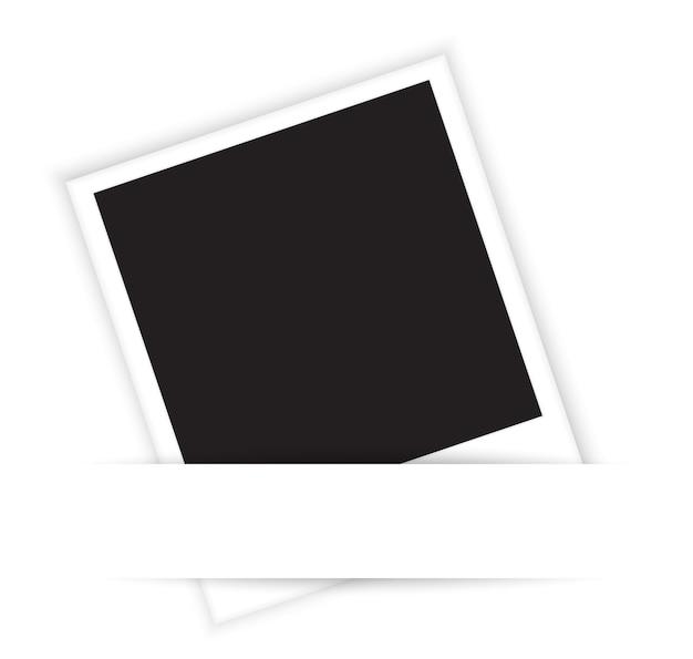 Fundo da foto em branco