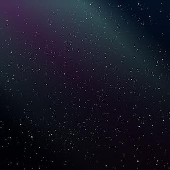 Fundo da galáxia do céu estrelado
